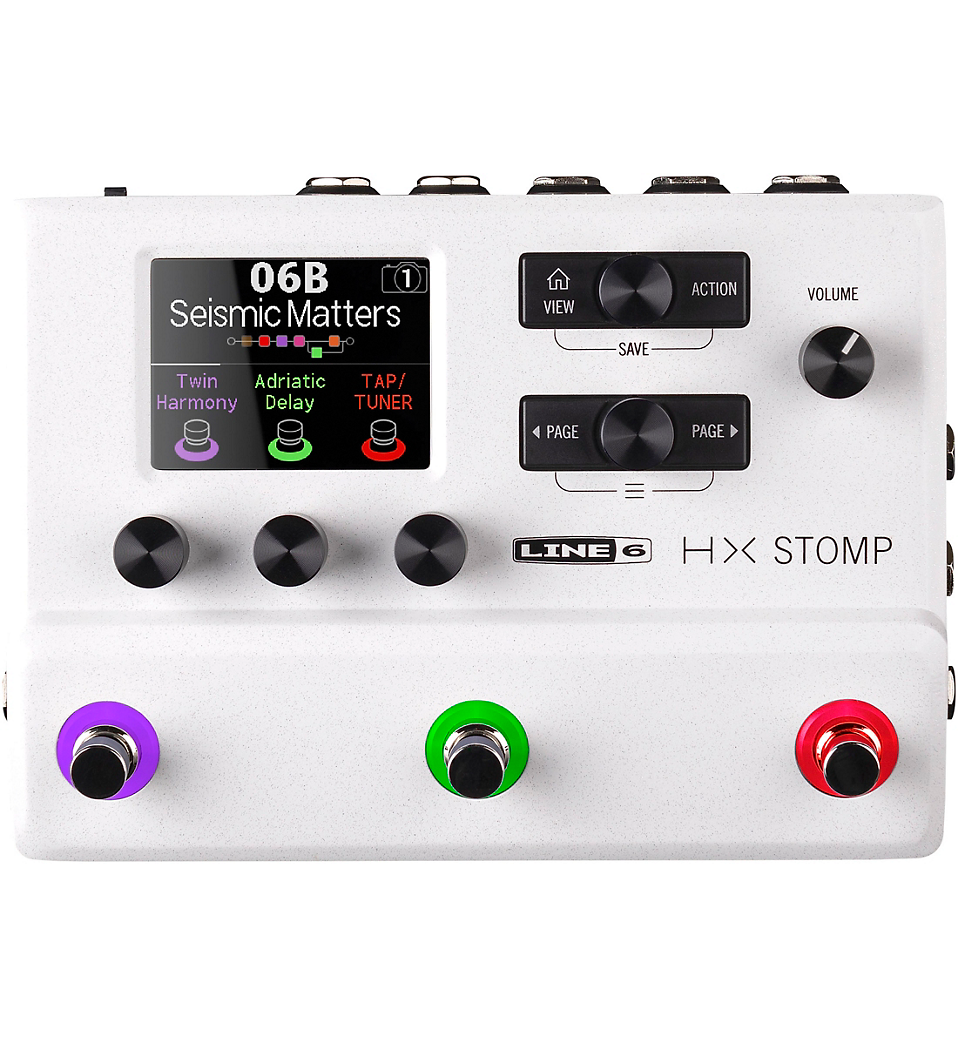 Line 6 HX Stomp Limited Edition Storm Trooper White