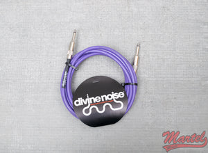 Divine Noise 15ft Purple Cable Straight Ends