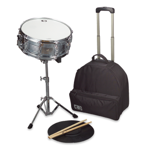 CB IS678TR Snare Drum Kit with Traveler's Bag w/ Wheels