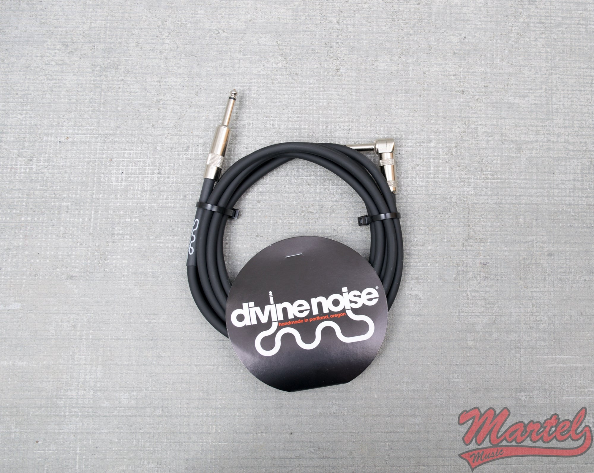 Divine Noise 10ft Black Cable Mixed Ends