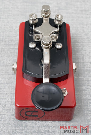 Coppersound Telegraph Stutter Killswitch Red w/ Polarity Switch
