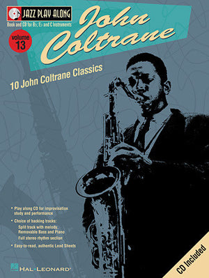 Hal Leonard John Coltrane Jazz Play-Along