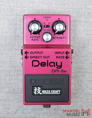 Used Boss Waza Craft DM-2W Delay