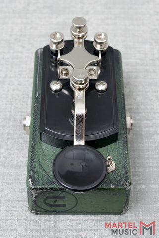 Coppersound Telegraph Stutter Killswitch Army Green Relic w/ Polarity Switch