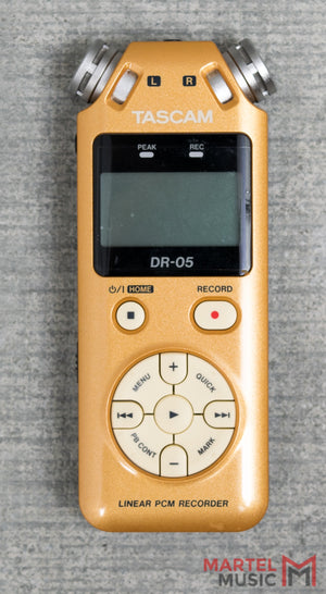 Used Tascam DR-05 Limited Edition Gold