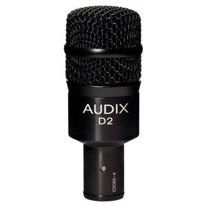 Audix D2 Instrument Microphone with Mid Bass-Boost