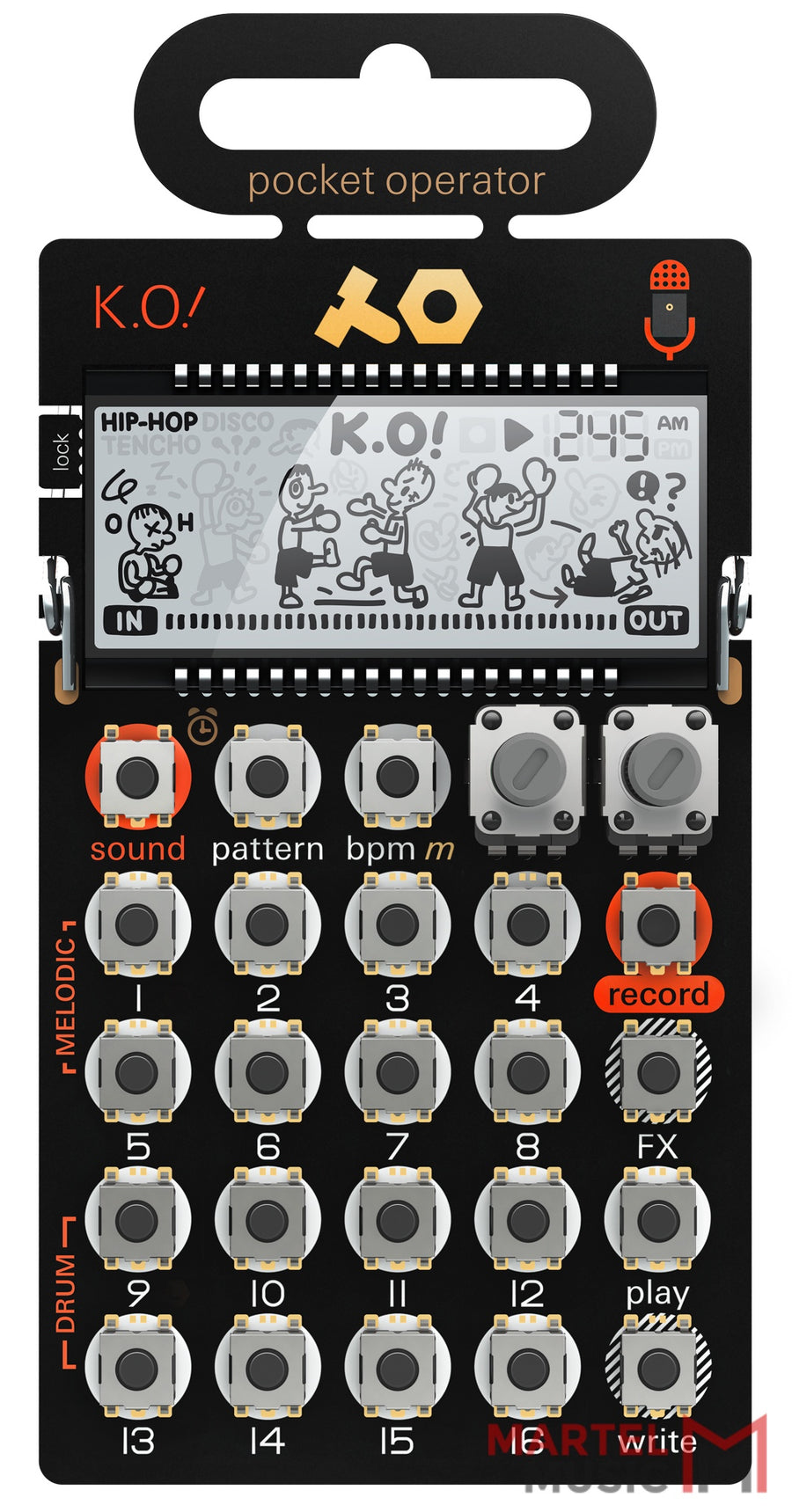 NEW! Teenage Engineering PO-33 K.O.