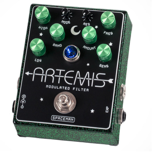Spaceman Effects Artemis Modulated Filter - Uranium Sparkle