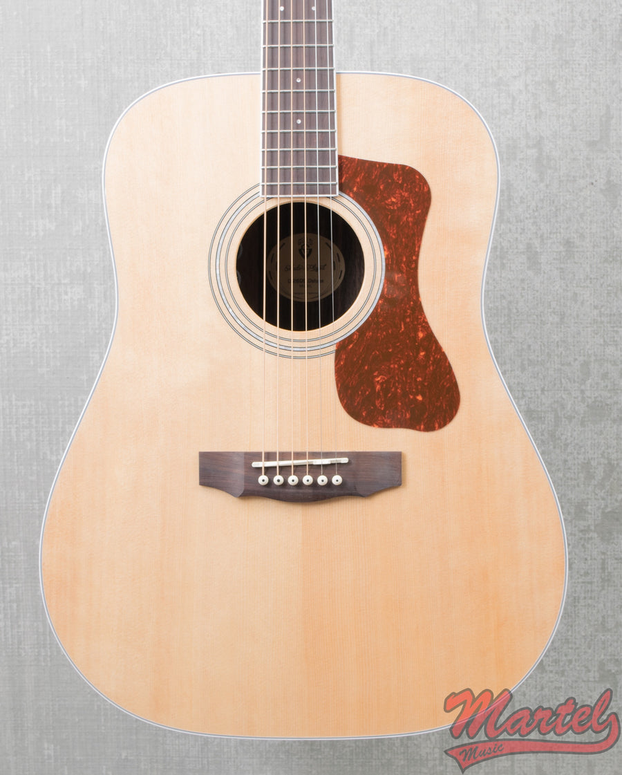 Guild D-260E Deluxe Natural Acoustic Guitar