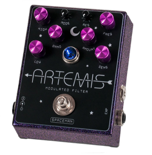 Spaceman Effects Artemis Modulated Filter - Purple Sparkle