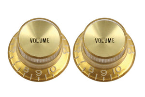 Gold Volume Reflector Knobs