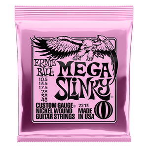 Ernie Ball Mega Slinky Nickel Wound Electric Guitar Strings 10.5-48
