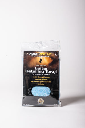 The Music Nomad Microfiber Guitar Detailing Towel