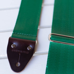 Original Fuzz Seatbelt Strap in Matisse Green