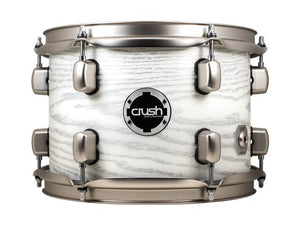Crush Sublime AXM 4 Piece Shell Pack White W/ Silver Sparkle
