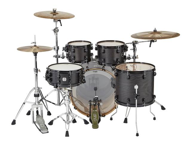 Crush Chameleon Ash 5 Piece Shell Pack - Trans Satin Black