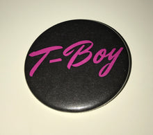 Limited Edition Black Velvet & T-Boy Buttons