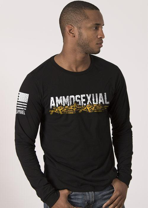 Ammosexual Long Sleeve Shirt.  Be proud of it.