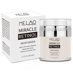 Melao Organic 2.5% Retinol Moisturizing Cream - 1.7 fl oz (50 mL)