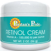 Retinol Cream (Vitamin A 100,000 IU Per Ounce) 100000 IU - 2 oz Cream - HENDRIKS SCIENTIFIC