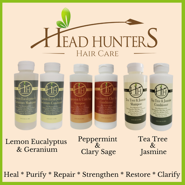 HH Haircare Products nourish and strengthen the hair follicles to promote healthy strong hair growth. Each formula is designed to heal the scalp and stimulate scalp cells