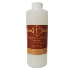 Head Hunters Naturals Hair Shampoo Copy of Head Hunters Naturals Peppermint & Clary Sage Shampoo