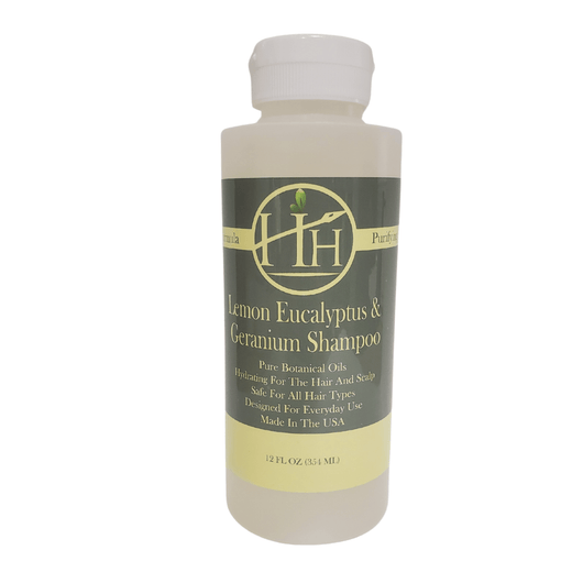 Head Hunters Naturals Hair Shampoo Head Hunters Naturals Lemon Eucalyptus & Geranium Shampoo 12oz