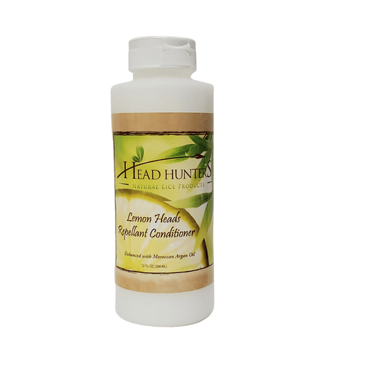Head Hunters Natural Lice Products Prevent Lice In Hair Head Hunters Naturals Lemon Heads Lice Repellant Conditioner 12oz