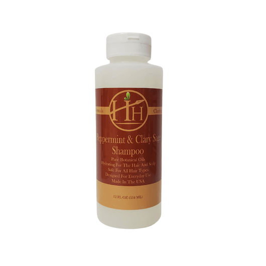Head Hunters Naturals Hair Shampoo Head Hunters Naturals Peppermint & Clary Sage Shampoo