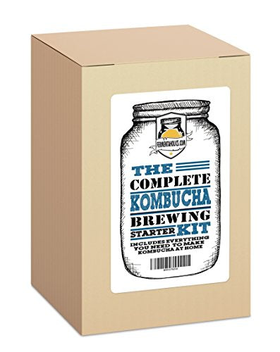The Complete Kombucha Brewing Starter Kit - Yoga Vedanta