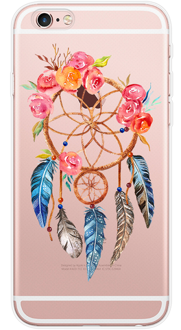 Dream Catcher Phone Case (Soft Transparent)
