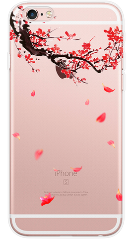 Branch Phone Case (Soft Transparent)