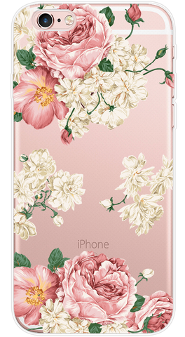 Efflorescence Phone Case (Soft Transparent)