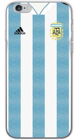 Argentina World Cup 2018 Phone Case (Soft Transparent)