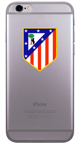 Atletico Madrid Football Club Phone Case (Soft Transparent)