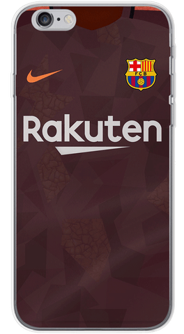 Barcelona 3rd 2017/18 Phone Case (Soft Transparent)