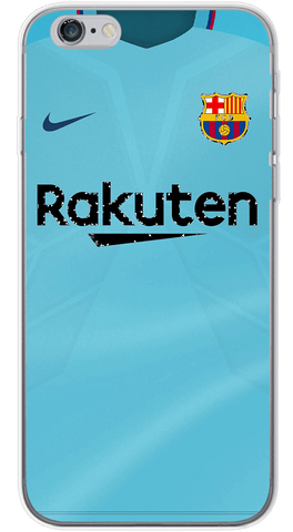 Barcelona Away 2017/18 Phone Case (Soft Transparent)