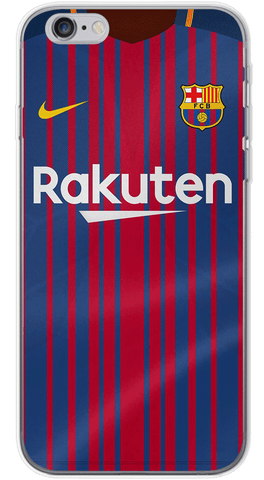 Barcelona Home 2017/18 Phone Case (Soft Transparent)