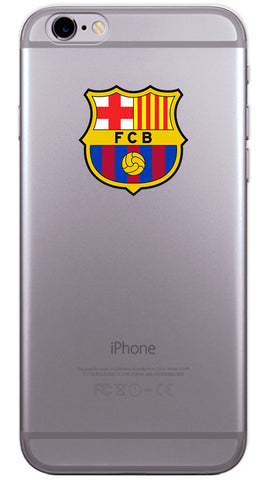 Barcelona Football Club Phone Case (Soft Transparent)