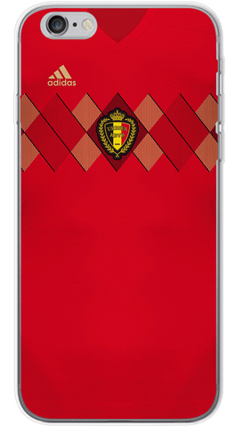 Belgium World Cup 2018 Phone Case (Soft Transparent)
