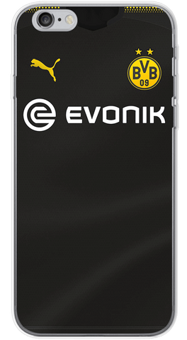 Borussia Dortmund Away 2017/18 Phone Case (Soft Transparent)