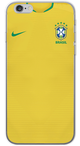 Brasil World Cup 2017/18 Phone Case (Soft Transparent)