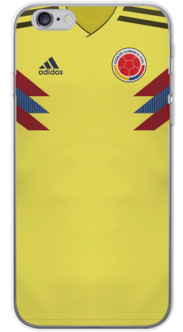 Colombia World Cup 2018 Phone Case (Soft Transparent)