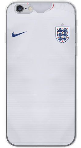 England World Cup 2018 Phone Case (Soft Transparent)