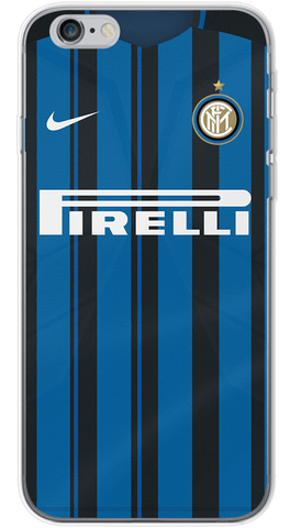 Inter Milan Home 2017/18 Phone Case (Soft Transparent)