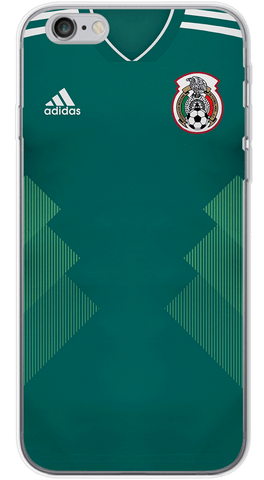 Mexico World Cup 2018 Phone Case (Soft Transparent)