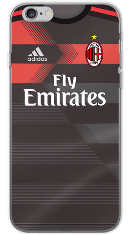 Milan 3rd 2017/18 Phone Case (Soft Transparent)
