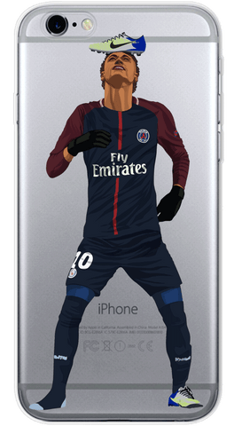 Neymar Phone Case (Soft Transparent)