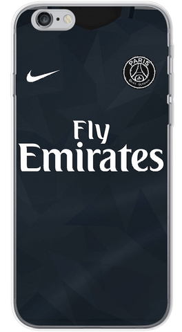 PSG 3rd 2017/18 Phone Case (Soft Transparent)