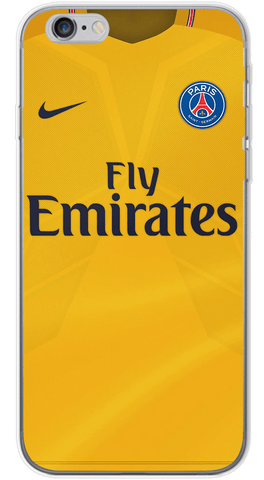 PSG Away 2017/18 Phone Case (Soft Transparent)